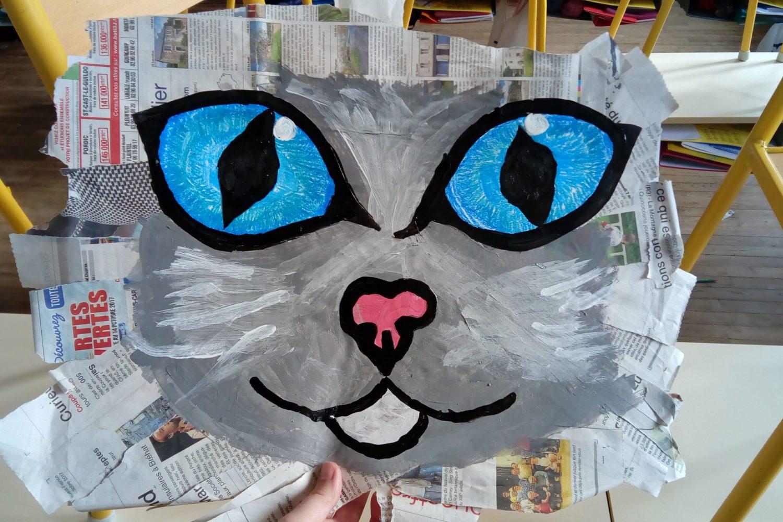 Les chats et chiens des petits artistes !