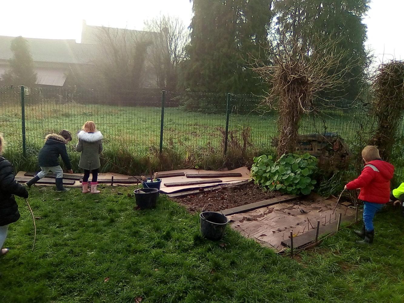 Aménagements du Petit Jardin