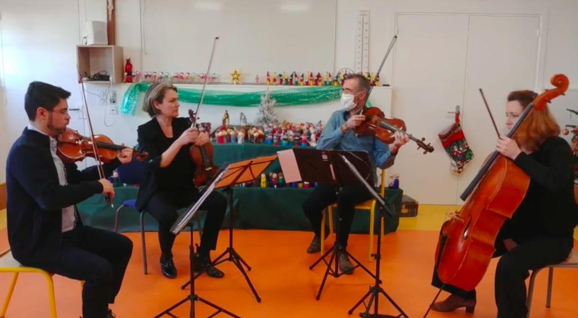 La musique classique s'invite à l'école …