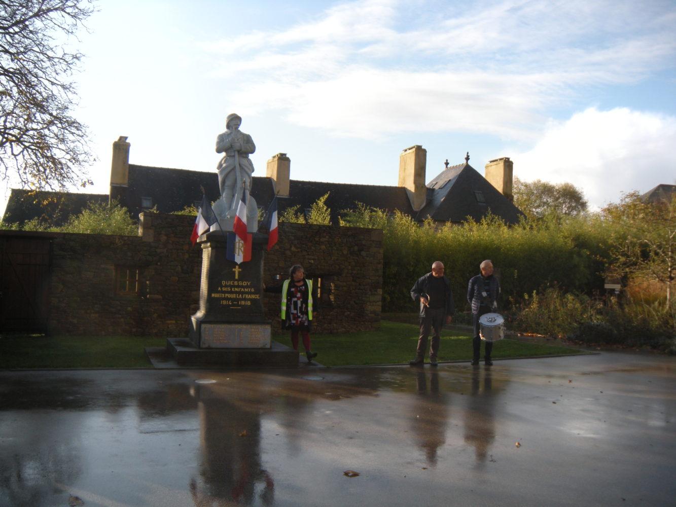 Souvenir : l'armistice du 11 novembre