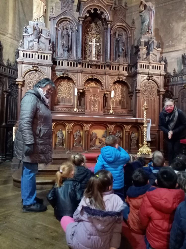 Visite de l'église de Quessoy