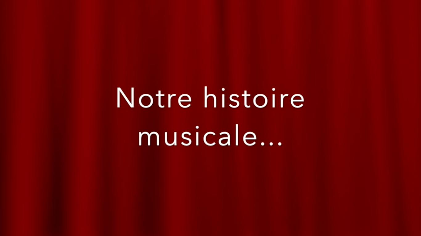 Production finale de musique.